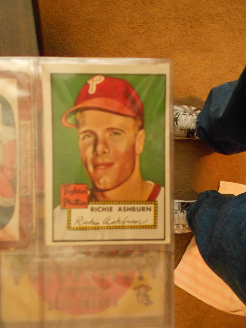 1952 Topps Richie Ashburn baseball card