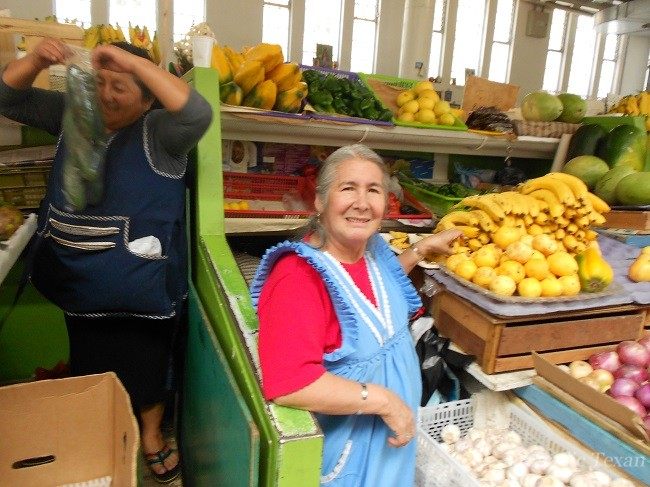 Lady at the Mercado That I Buy My Fruits and Veggies From