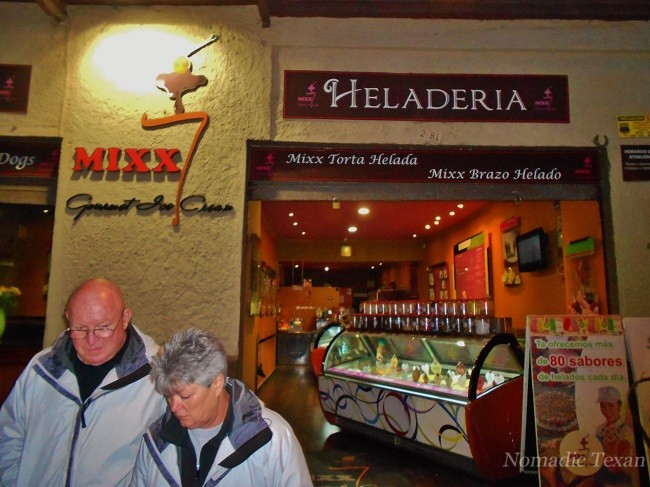 Mixx Heladeria with 80 Flavors with Jim and Connie Joliff