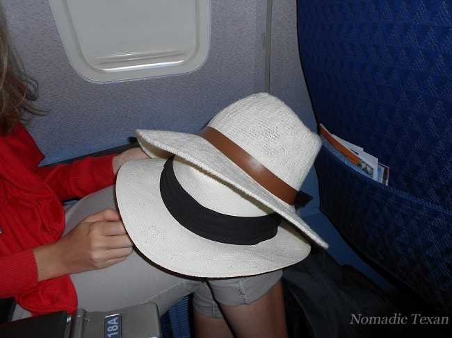 The Hats on The Airplane