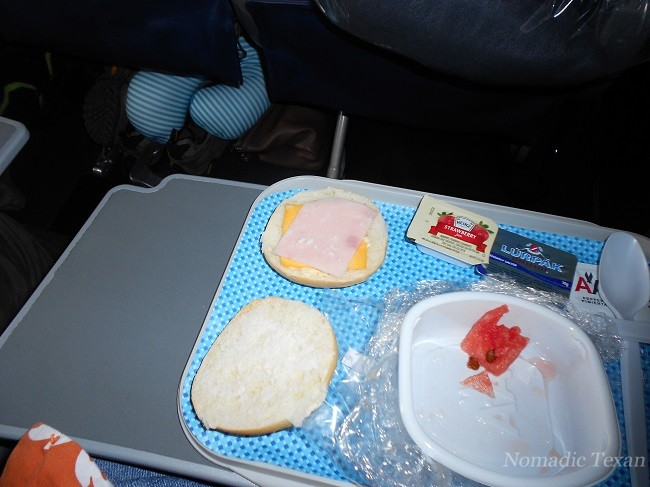 Breakfast Sandwich for a $949 Ticket