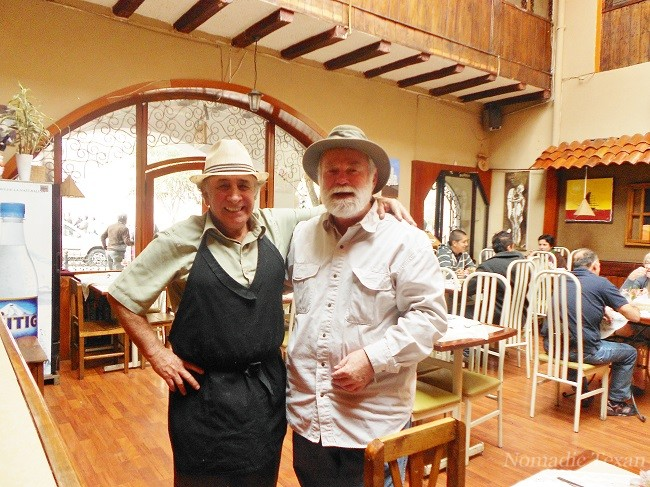 Don Colon and the Nomadic Texan