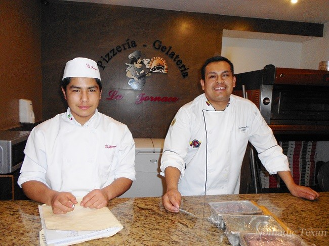 Vladamir (cook) and Santiago (Chef)