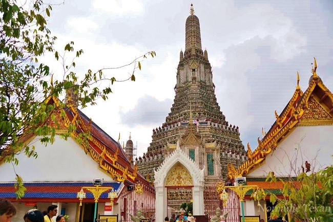 Central Prang of Wat Arun, Temple of Dawn