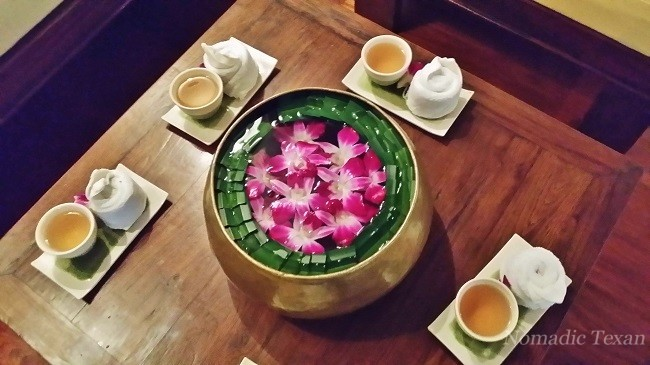 Zen Bowl, Tea and Warm Cloth for All