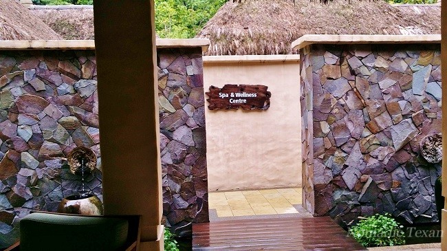 Entrance to The Banjaran Hotsprings Retreat