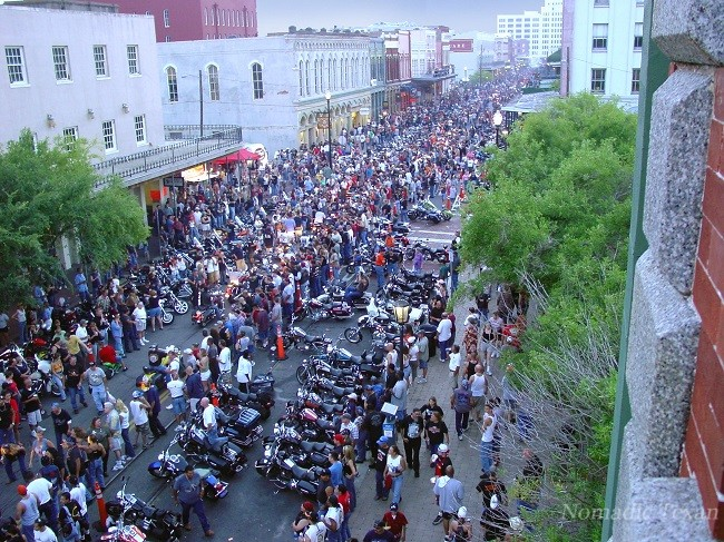 Lone Star Biker Rally Gets Busy