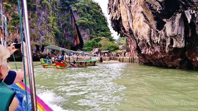 James Bond Island in Phang Nga Bay Thailand
