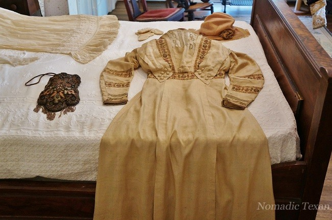 Lady of the House's Clothes Laid Out