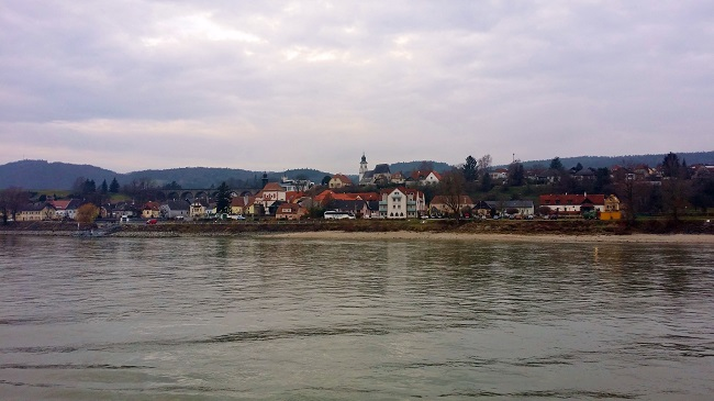 Danube River in Austria