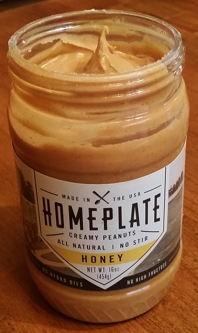 The Ultimate Honey Flavored Homeplate Peanut Butter