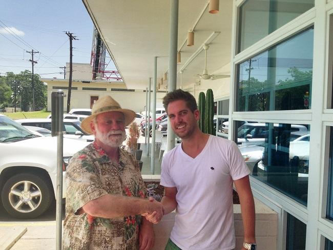 Nomadic Texan with Turner Barr aroundtheworldin80jobs.com