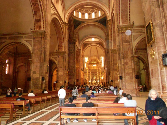 The New Cathedral in Cuenca