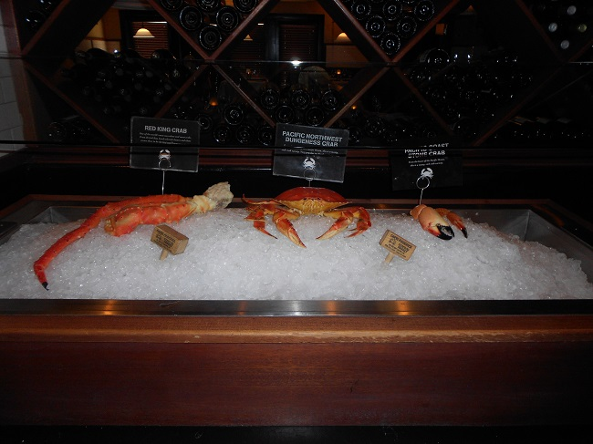 King Crab, Dungeness Crab and Stone Crab Claws