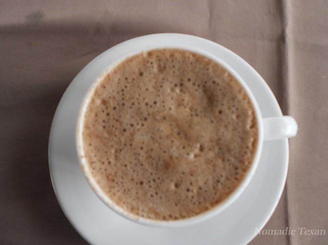 Hot Chocolate at the Cacao Plantation