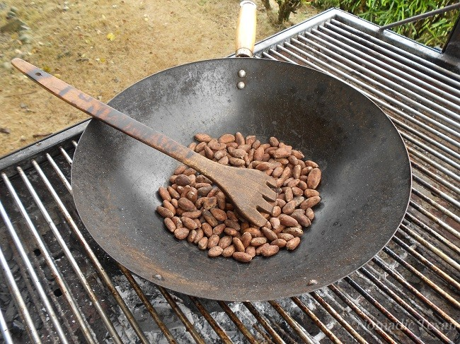 A Shortcut to Drying the Beans