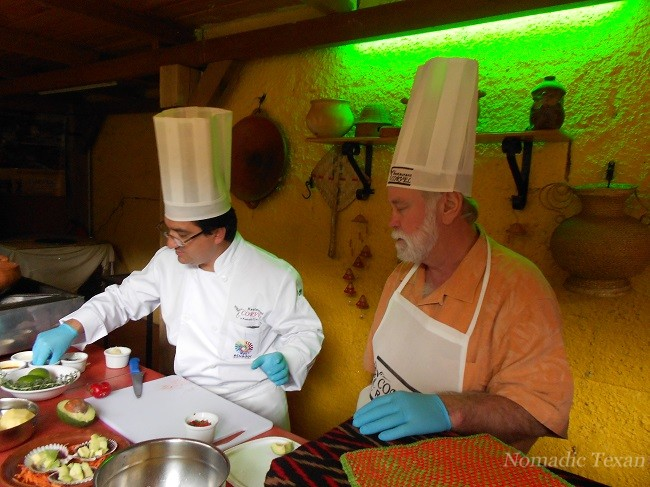 Chef Patricio and the Nomadic Texan in the Beginning