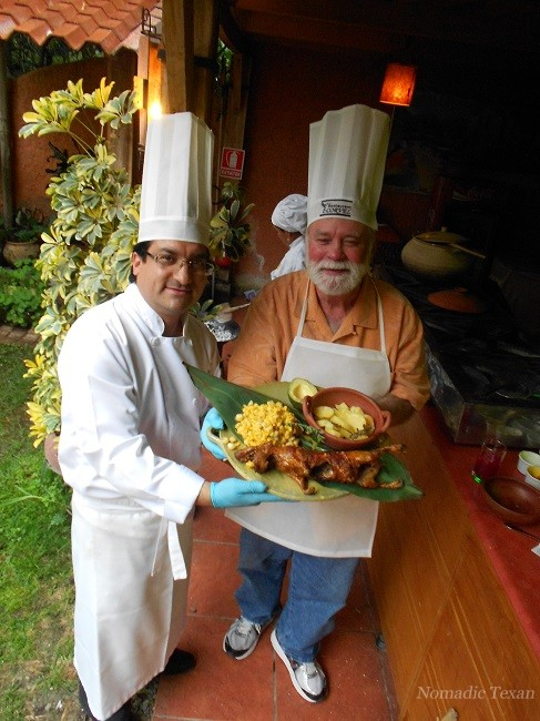 A Meal Made for an Incan King, Cuy! With Chef Patricio from Restaurante Corvel in Paute Ecuador