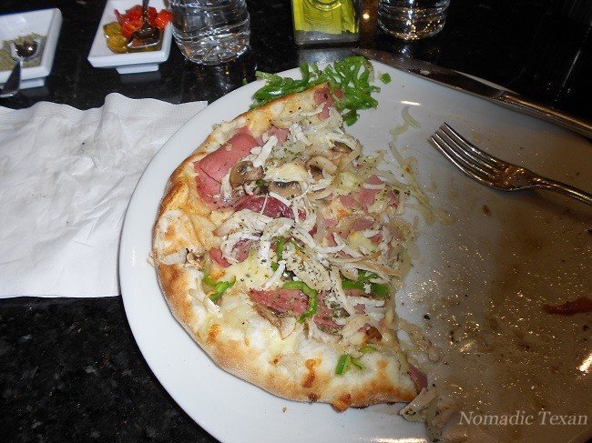 Pizza So Good I Forgot to Take a Photo