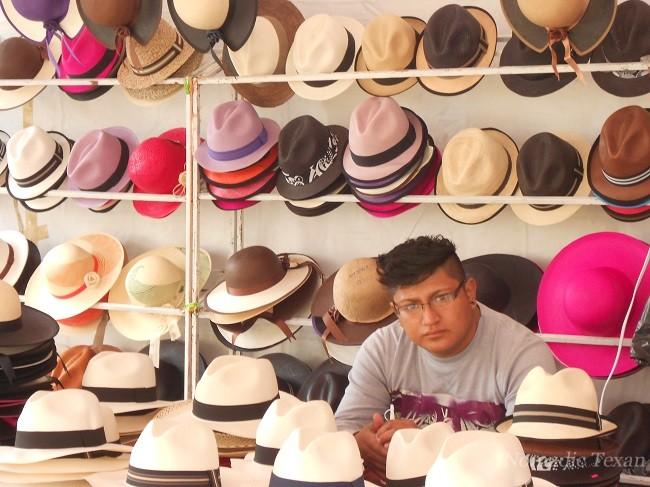 A Hat Vendor