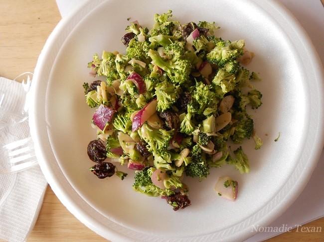 California Broccoli Salad