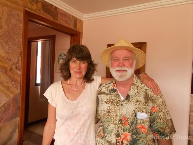 Susan Schenck with the Nomadic Texan