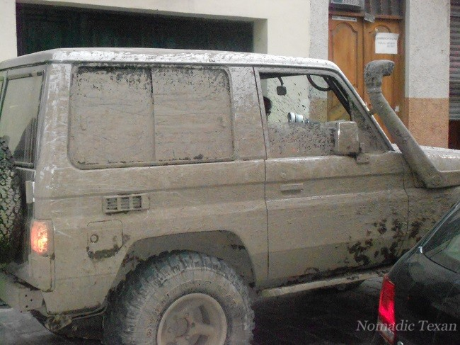 Mudding in Cuenca