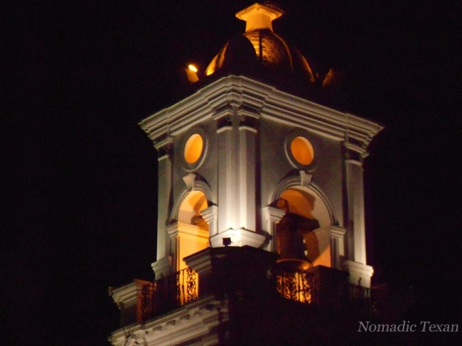 The Old Cathedral Steeple at Night