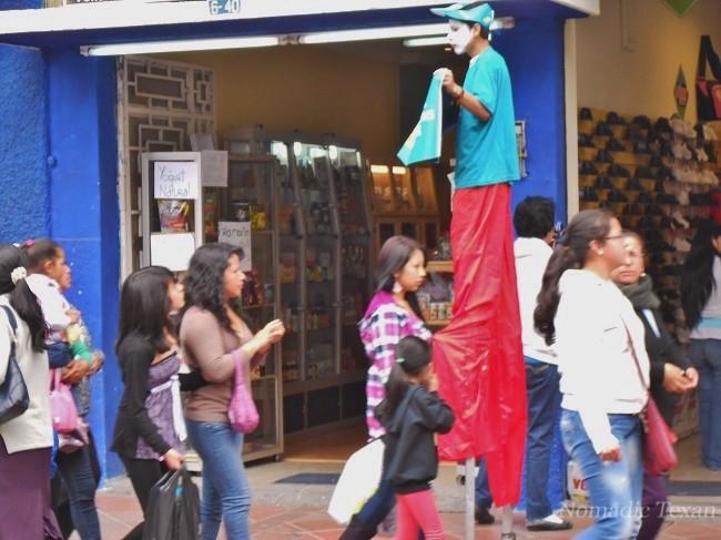 Streetwalking in Cuenca is Always Exciting