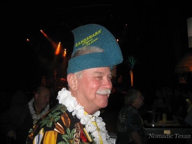 Old But Still Employed at a Jimmy Buffett Concert in Vegas