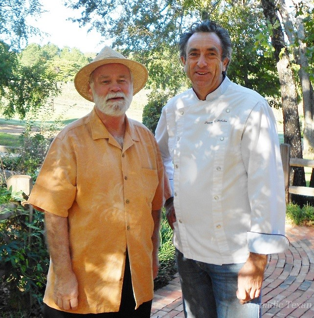 Chef Simon Webster with the Nomadic Texan