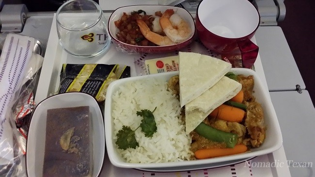 My Economy meal on Thai Airways