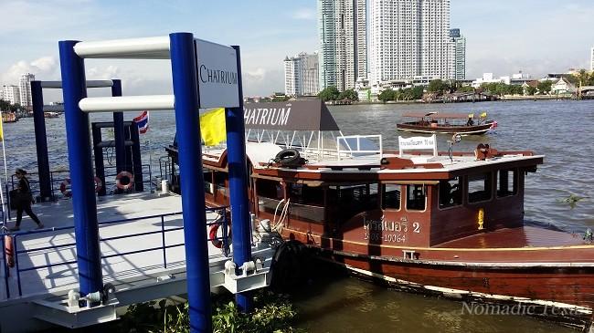 Chantrium Hotel Riverside Bangkok shuttle