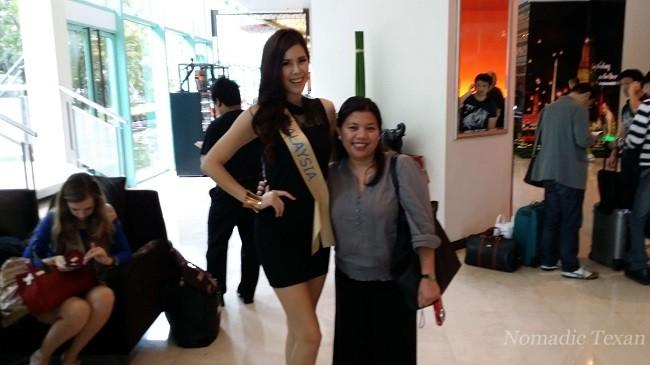 Malaysia Tourism Board Member Irni Nor with Ms. Malaysia