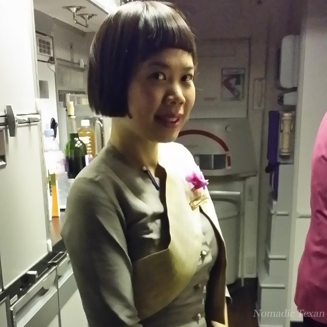 An Ever Present Smiling Face on Thai Airways
