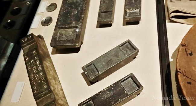 Old Pewter Ingots