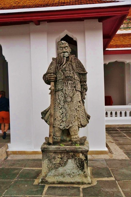 Stone Chinese Statue at Wat Arun
