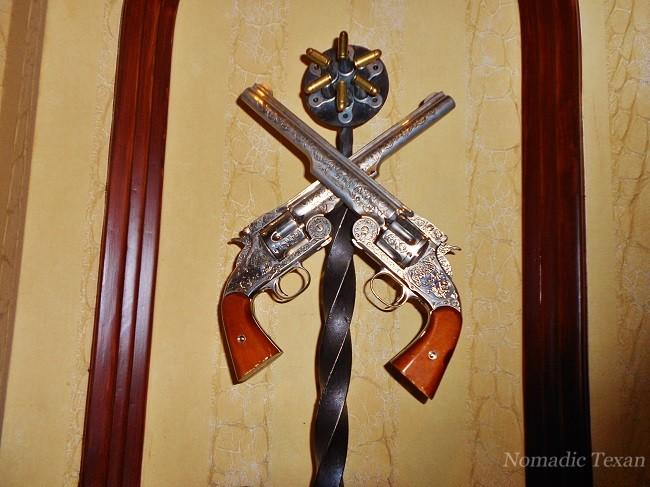 Revolvers in the Driskill
