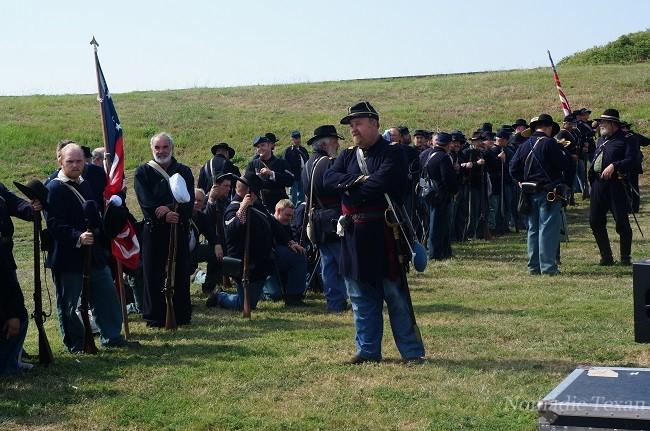 Union Forces Preparig For Battle