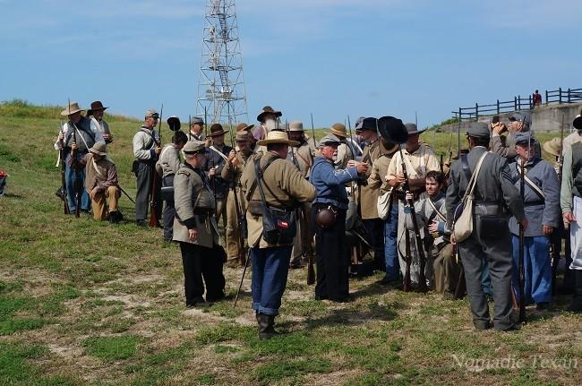 Confederat Forces Preparing for Battle