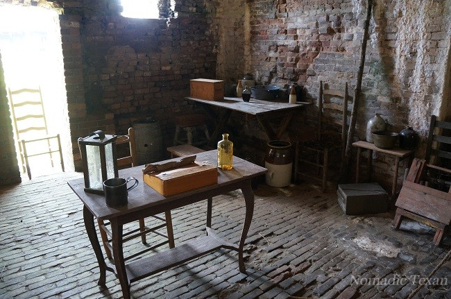 Office Space Inside of Fort Morgan