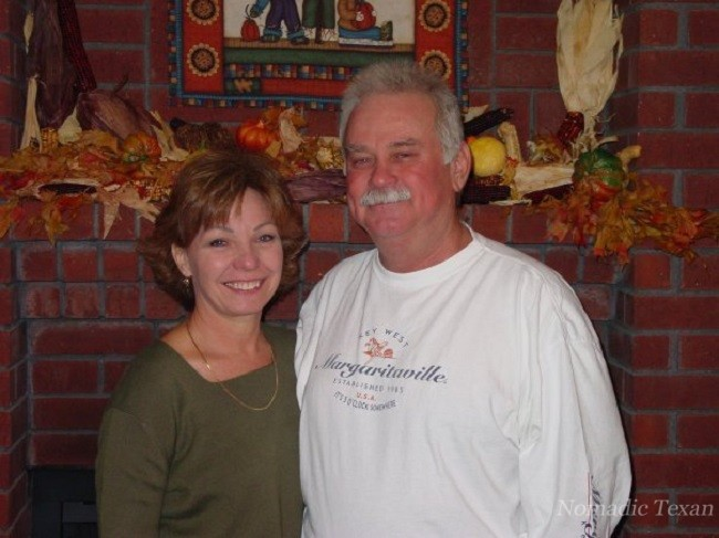 Kim and I at The Westerkirk House