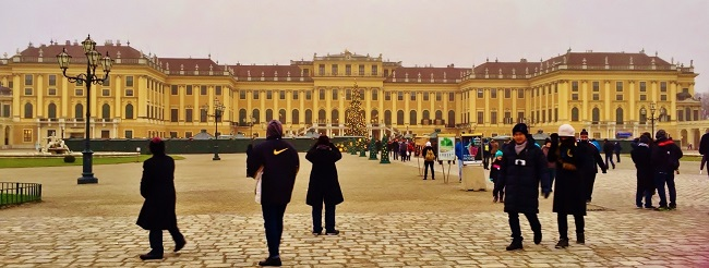 Schonbrunn Palace, Photographed by Gail Douglas